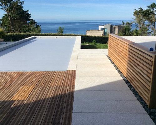 Piscine et terrasse bord de mer for Bord de piscine