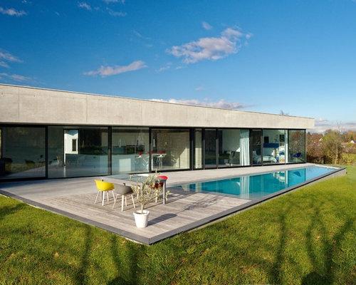 Piscine moderne photos et id es d co de piscines for Amenagement d une piscine