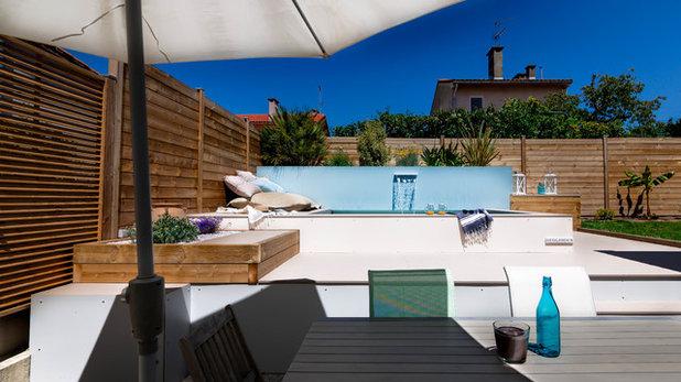 Traum schlafzimmer mit pool  Der Traum vom eigenen Pool – in diesem Stadtgarten wird er wahr