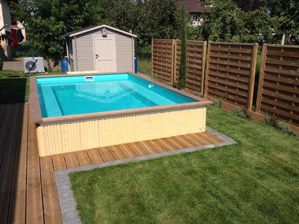 Petit espace et budget limit optez pour une petite piscine - Piscine pour petit espace ...