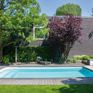 Inspiration for a scandinavian pool in Gothenburg.