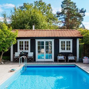 Неиссякаемый источник вдохновения для домашнего уюта: бассейн в скандинавском стиле