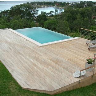 Ispirazione per una piscina scandinava