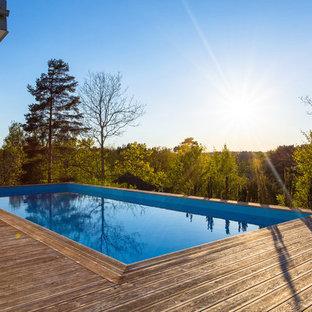 Scandinavian pool in Stockholm.