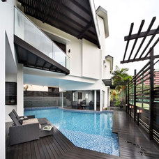 Contemporary Pool by The Interior Place (S) Pte Ltd