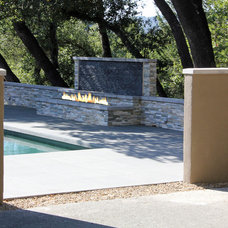 Modern Pool by Architect Andrew Morrall