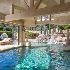 Mediterranean Pool by W Architectural Photography