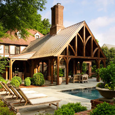 Traditional Porch by Tuckahoe Creek Construction, Inc.