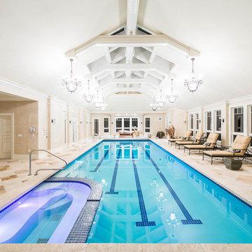 12 Claridge Drive, Weston, MA Indoor Pool