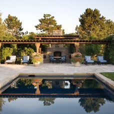 Mediterranean Pool by Tiffany Farha Design