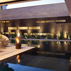 contemporary pool by EcoSmart Fire