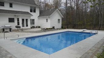 18x36 Pool w/ Auto Cover