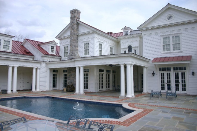 Traditional Pool by Eric Stengel Architecture, llc