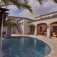 Mediterranean Pool by Keesee and Associates, Inc.