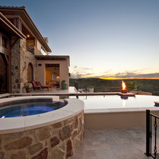 Mediterranean Pool by Jenkins Custom Homes