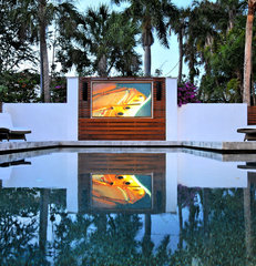 contemporary pool by SmartHouse Integration LLC