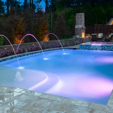 Traditional Pool by Master Pools Guild, Inc.