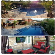 Traditional Pool by Majestic Outdoor Living