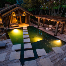 Rustic Pool by Trestlewood