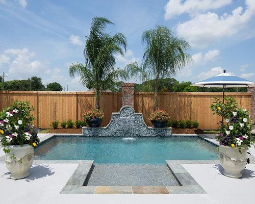 Fotos de piscinas dise os de piscinas ex ticas peque as for Piscina rectangular pequena