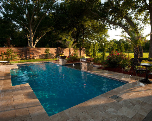 Rustic new orleans pool design ideas remodels photos for Pool design new orleans