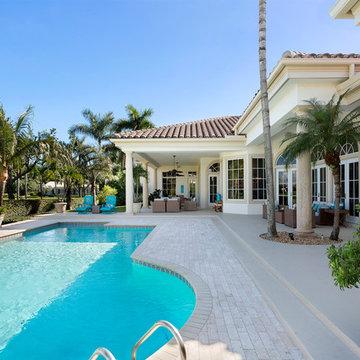 355 Old School Road | Gulf Stream, FL | Modern Mediterranean estate