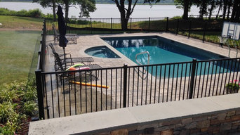 4' High Commercial Grade Aluminum Pool Fence
