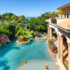 Mediterranean Pool by Perrone Construction