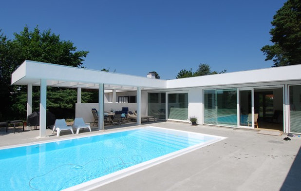 Contemporaneo Piscina by NB ark