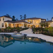 Traditional Pool by Heavenly Homes