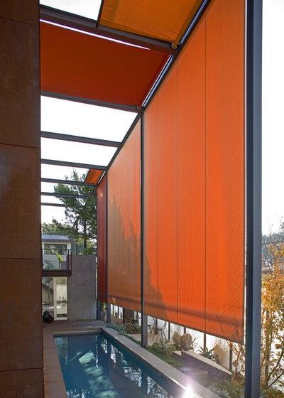 Industrial Pool by Ehrlich Yanai Rhee Chaney Architects