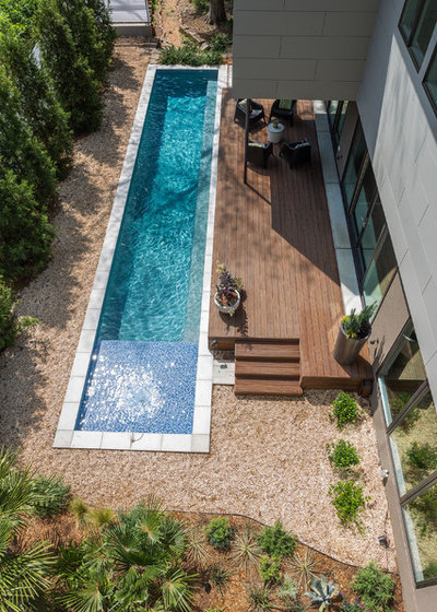 Contemporain Piscine by TaC studios, architects