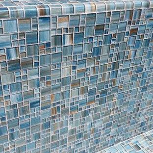 90 degree Glass Trim Tile