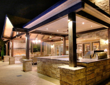 A Backyard to Entertain Family and Friends