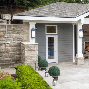 A Beautiful 'Stay at Home' Backyard