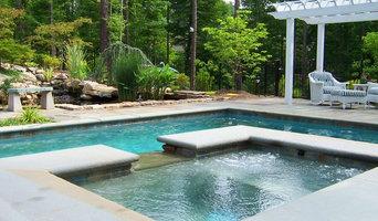 A Carolina Hillside Pool