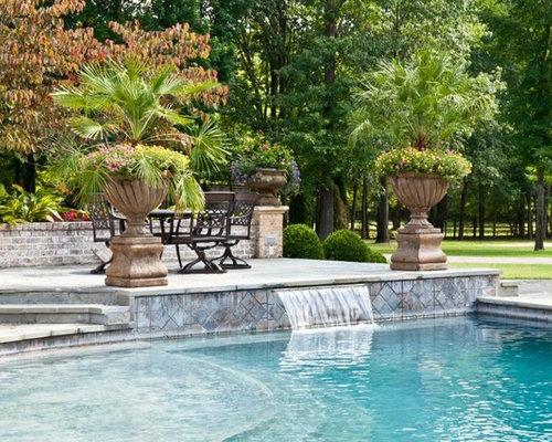Traditional nashville pool design ideas remodels photos for Pool design nashville