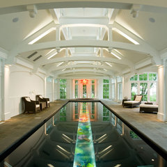 eclectic pool by Deep River Partners