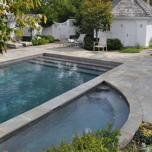 Imagen de piscina clásica rectangular