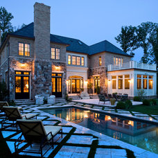 Traditional Pool by Sroka Design, Inc.