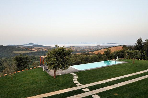 Casa de campo Piscina by architetto marco tagliapietra
