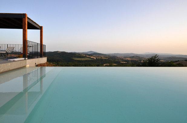 Landhausstil Pools by architetto marco tagliapietra