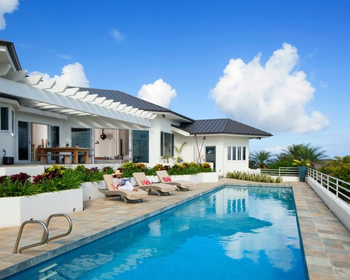 Hawaii backyard home design ideas pictures remodel and decor for Pool design hawaii