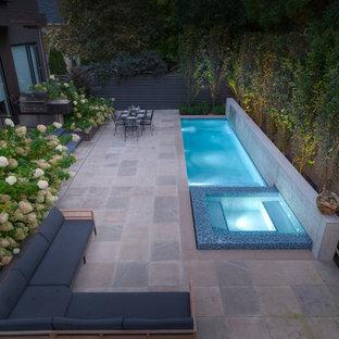 "A ""Quick Dip"" - Custom Concrete Pool & Spa"