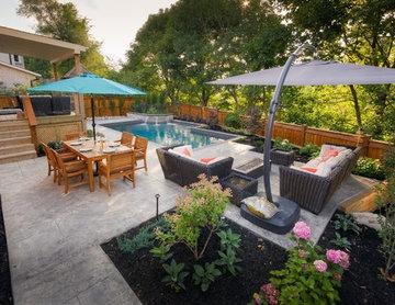 A Small Backyard Magically Transformed
