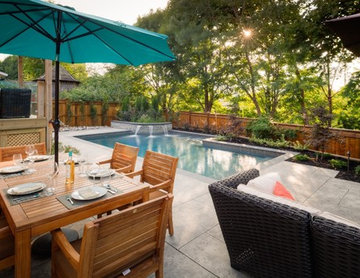 A Small Backyard Magically Transformed