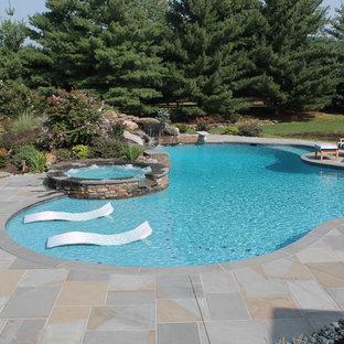 Idee per una piscina chic personalizzata