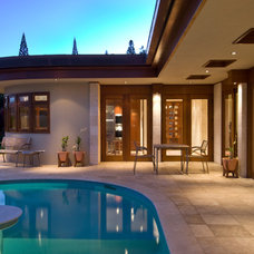 Contemporary Pool by Lapis Design Partners