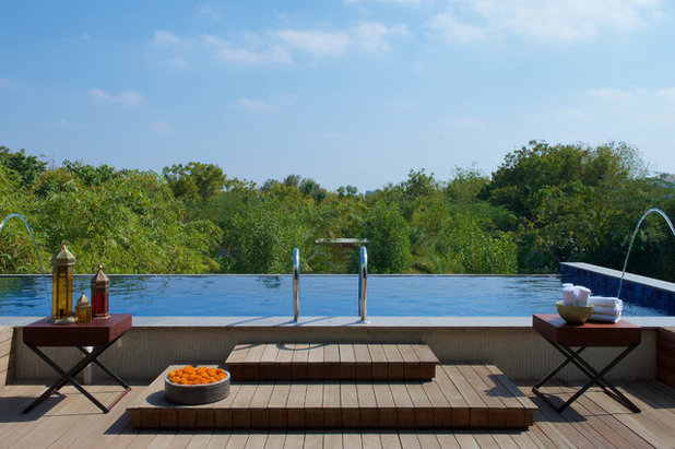 Contemporary Pool by Hiren Patel Architects