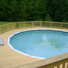 Traditional Pool by Classic Homes by Brian K. Smith, Inc.